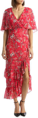DAY Birger et Mikkelsen Spring Field Ruffle Asymmetic Dress