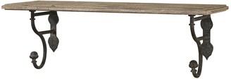Uttermost Gualdo Distressed Wood Shelf