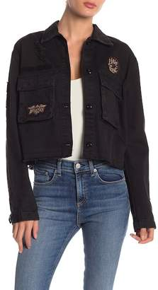 Affliction New Level Embroidered Patch Jacket