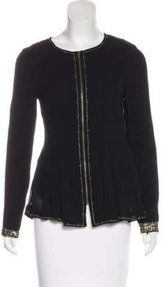 Hoss Intropia Embroidered Long Sleeve Top