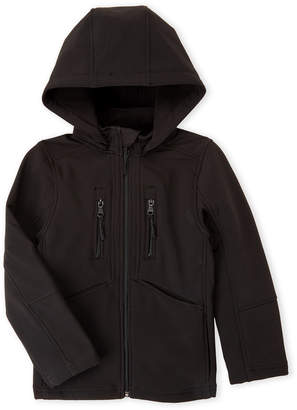 Urban Republic Boys 8-20) Black Soft Shell Hooded Jacket