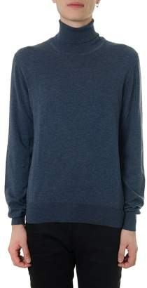 Maison Margiela Avio Cotton-wool Blend Turtle Neck Sweater