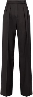 Max Mara Wool Side Split Trousers