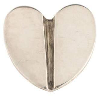 Kieselstein-Cord Heart Brooch