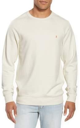 Frame Slim Fit Raglan Crewneck Sweatshirt