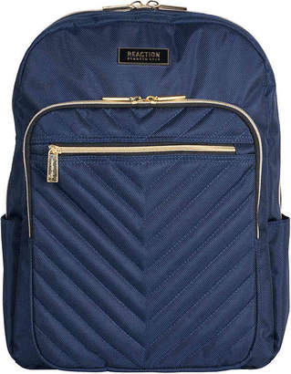 Kenneth Cole Reaction Luggage Dual Flap Computer Backpack - Women's