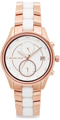 Michael Kors Briar Watch $275 thestylecure.com
