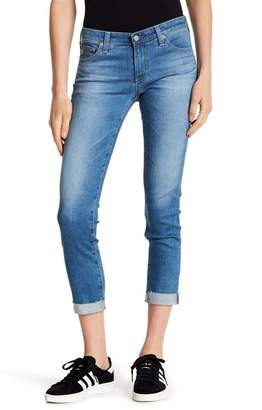 AG Jeans Stilt Roll Up Distressed Jeans