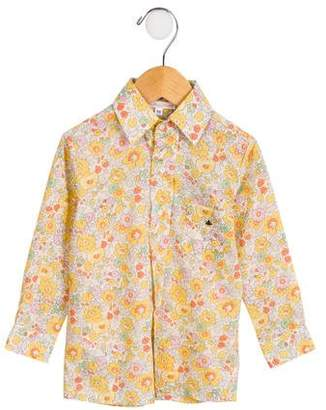 Casilda Y Jimena Girls' Liberty Floral Button-Up w/ Tags