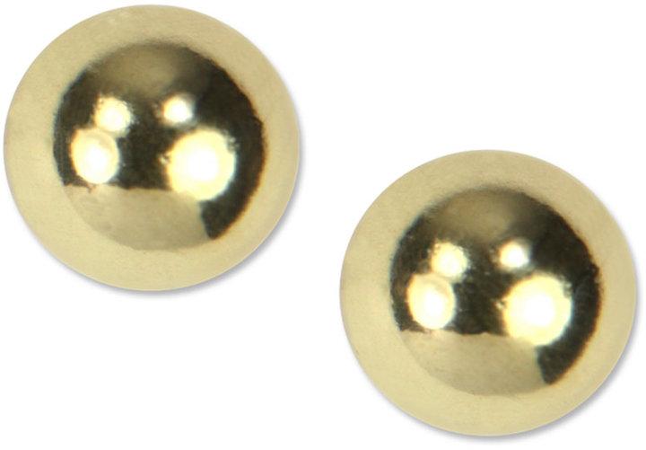 Jones New York Anne Klein Earrings, Ball Stud Earrings