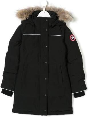 Canada Goose Kids fur hooded jacket