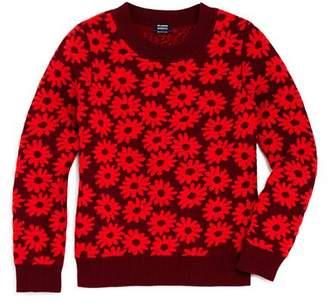 Splendid x Margherita Girls' Daisy-Print Sweater - Little Kid