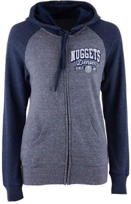 5th & Ocean Women's Denver Nuggets Audible Hooded Sweatshirt