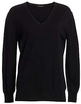 The Row Women's Essentials Sabry Cashmere V-Neck Sweater