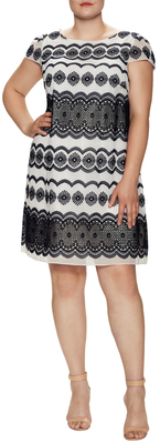 Embroidered Shift Dress $168 thestylecure.com