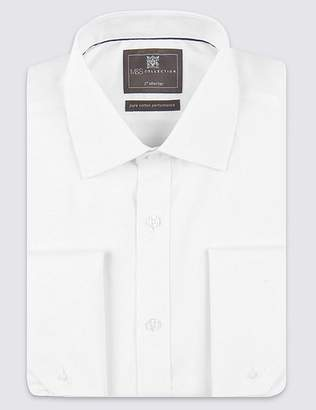 Marks and Spencer 2in Shorter Non-Iron Regular Fit Shirt