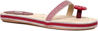 Max Studio jesting : slip-on button-toe sandals