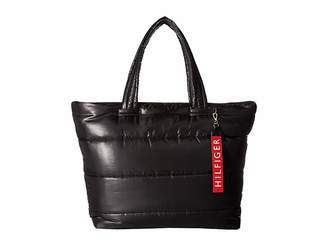 Tommy Hilfiger Ames Puffy Solid Nylon Tote