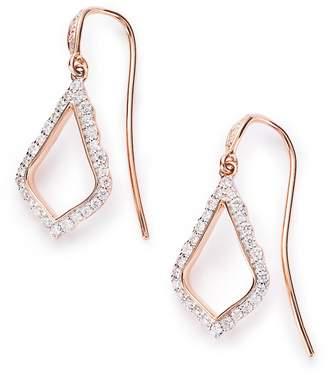 Kendra Scott Liliana Pave Diamond Drop Earrings