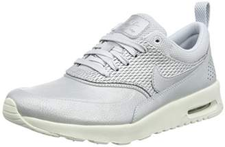 5d43cd0de9 Nike Women's Air Max Thea Premium Trainers, Grey (Metallic Sail/Pure  Platinum)