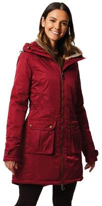 9ce075a47d18c Regatta - Red  Lucasta  Waterproof Hooded Parka