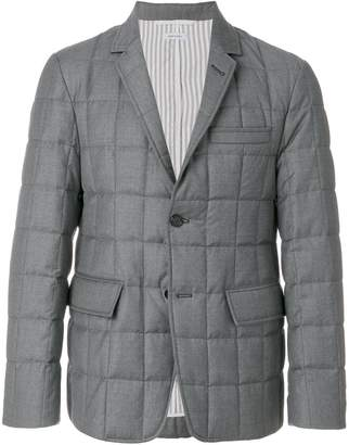 Thom Browne Quilted Down Super 130s Sport Coat