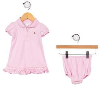 Ralph Lauren Infant Girls' Short Sleeve Dress Set