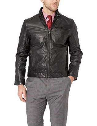 Ungaro Emanuel Men's Leather Moto Jacket