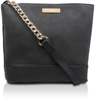 Carvela Rich Zip Top Chn Bckt Bag