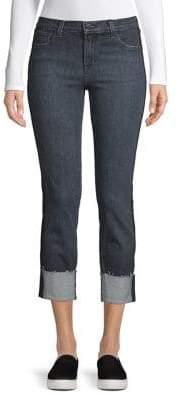 J Brand Maude Mid-Rise Cigarette Jeans