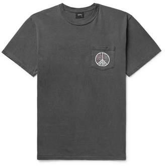 Stussy Printed Cotton-Jersey T-Shirt