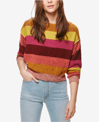 Free People Candyland Striped Sweater $98 thestylecure.com
