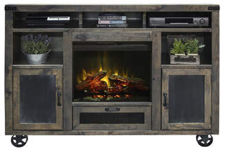 Laurèl Foundry Modern Farmhouse Wilson Media Console with Electric Fireplace