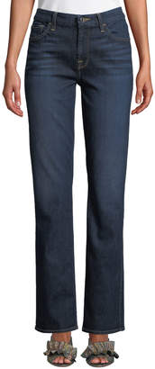 7 For All Mankind Jen7 By Slim Straight-Leg Jeans