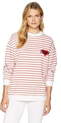 Tommy Hilfiger Tommy Jeans Women's Long Sleeve T-Shirt Heavyweight Knit Tee