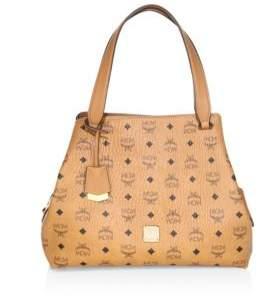 MCM Large Visetos Original Hobo Bag