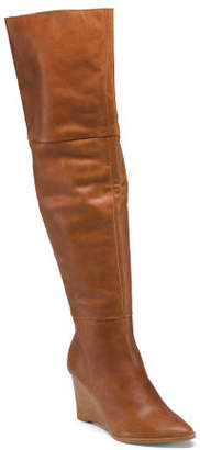 Made In Brazil High Shaft Leather Boots