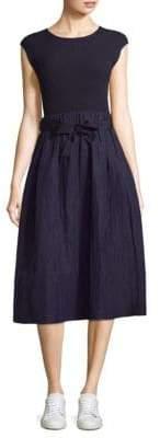 Peserico Taffeta Skirt Dress