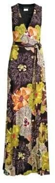 Etro Jersey Poppy Maxi Dress