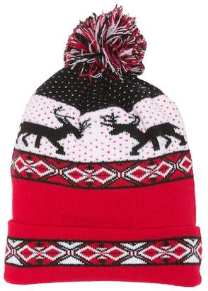 David & Young Light Up Reindeer Beanie