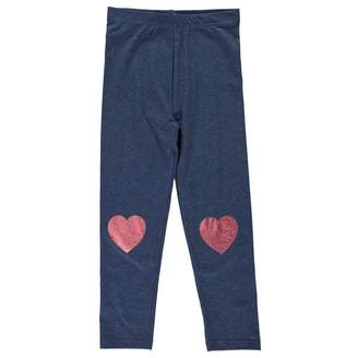 Crafted Kids Girls AOP Leggings Child Pants Trousers Bottoms Breathable