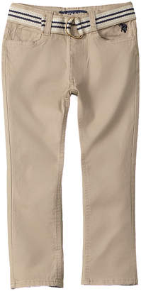 US Polo Association U.S. Polo Assn. Belted Pant