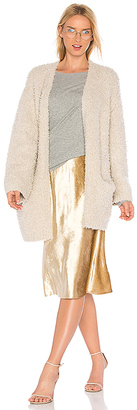 Vince Teddy Cardigan in Beige $595 thestylecure.com