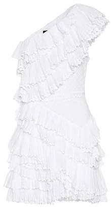 Isabel Marant Zeller one-shoulder cotton dress