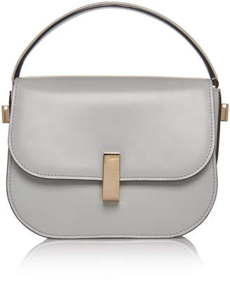 Valextra Iside Mini Leather Top Handle Bag