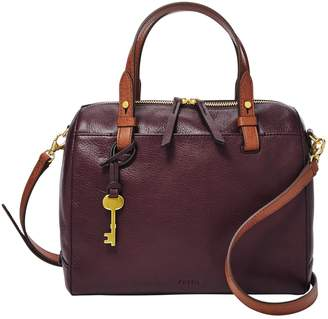 Fossil Rachel Leather Satchel