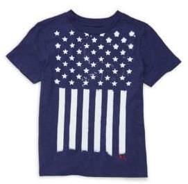 Ralph Lauren Little Boy's Stars& Stripes Cotton T-Shirt