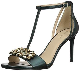 Nine West Women's RUMSEY Synthetic Heeled Sandal