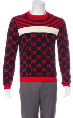 Gucci 2018 Intarsia Knit Sweater