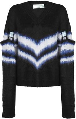 Off-White Off White Detachable-sleeves Sweater